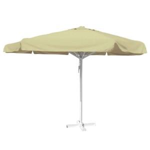 Horeca parasols ecru 5 meter rond