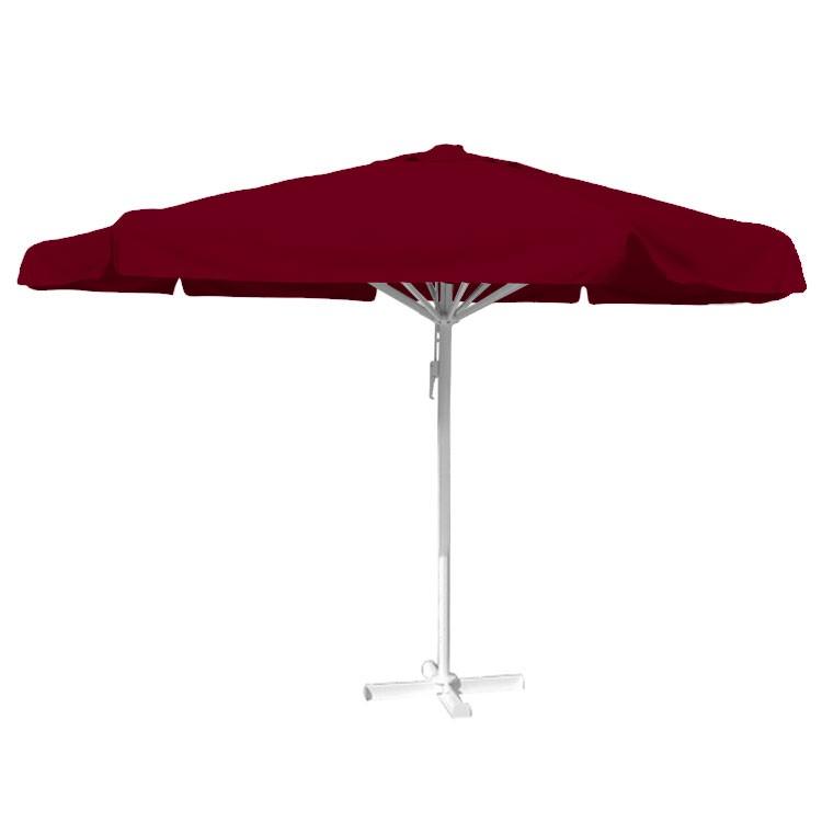 Horeca Parasol bordeaux rood
