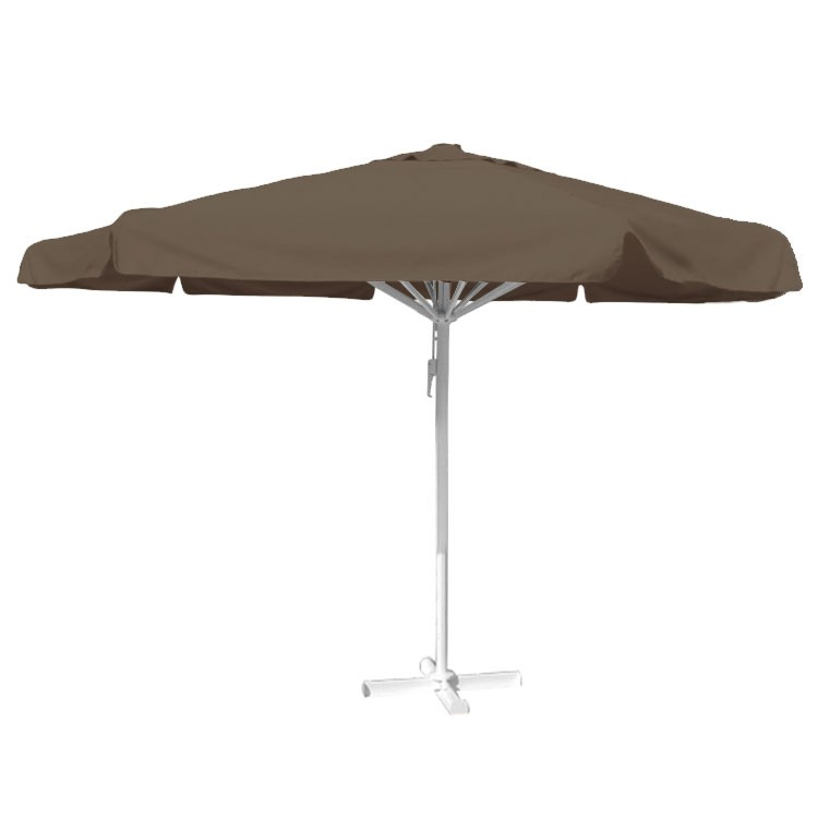 Parasol taupe 5 rond