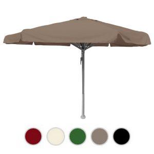 Horeca parasols rond ø5 ecru met volant
