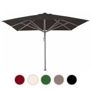 Horeca parasols 4x4 zwart zonder volant